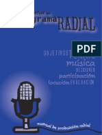 CALANDRIA Manualproduccionrad