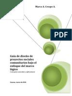 35305931 Guia de Diseno de Proyectos Sociales Comunitarios Bajo El Enfoque Del Marco Logico
