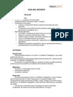 Guía docente La Gallinita Trabajadora