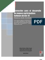 Instructivo Para El Desarrollo de Mapeos Participativos ARCGIS 10