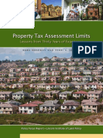 Property Tax Assessment Limits