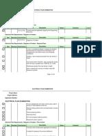 Checklist Electrical
