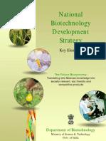 National Biotechnology Development Strategy