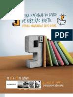Programação Feira do Livro 2009 em Ribeirão Preto