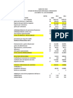 Estado Financiero Proyect