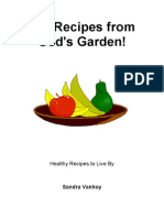 101 Recipes From God's Garden