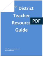 12th District Teacher Resource Guide