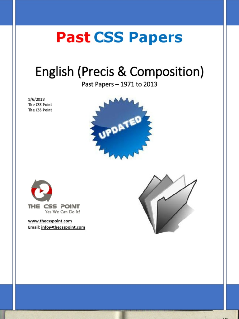 css english composition 2013 Download english (precis & composition) solved css papers the css point wwwthecsspointcom by thecsspoint in book excerpts, download, and papers.