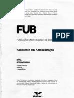 Apostila Concurso FUB Assistente Administrativo Portugues