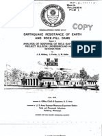 Earthquake Resistance of Earth and Rock Fill Dams