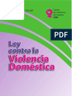Ley Violencia Domestica 2013