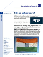 India as a Global Power