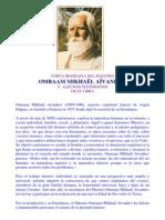 Biografia Omraam Mikhael Aivanhov