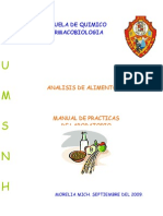 Analisis de Alimentos - Manual