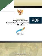 Pedoman Umum PNPM Mandiri