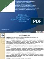 Diplomado Gas - Transporte y Almacenamiento Del Gas Natural