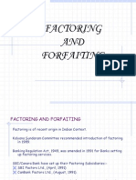 Factoring and Forfaiting