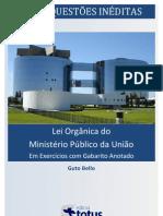 Exercícios comentados_Legislação MPU