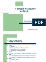 Vocabulary Module 2 Final