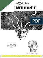 Arlinski - Infinite Knowledge - Conscious Conception Wisdom [1983,32p]