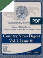 CERES News Digest - Week1, Vol.3, Sept. 2-6
