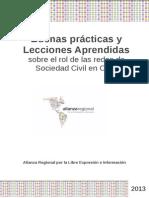 Buenas Prácticas Redes en el OGP. Alianza Regional y Transparencia Internacional (Banco Mundial)