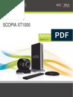 Scopiaxt1000 Admin