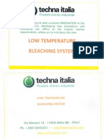 Low Temperature Bleaching Process for Cellulosics