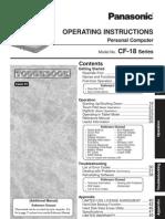 TGHBK CF 18 Operating Manual