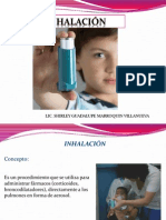 inhalacion nebulizacion