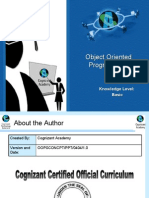 Object Oriented Programming Presentation