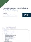 Fondamentaux du contrôle interne et de l'audit interne