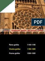 Gotika Skulptura&Vitraz