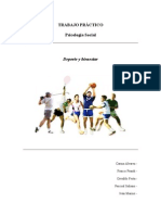 Psicologia Social . Deporte y Bienestar TP