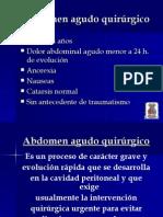 abdomen agudo medico y quirurgico diferencias