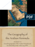 geography of arabian peninsula