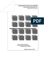 Resumo de EC501-ResistenciaMateriaisII