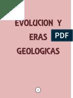 Evolucion y Eras Geologicas