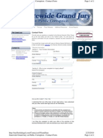 Grand Jury Contact Form