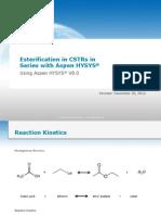 RX-005H CSTR Series Esterification