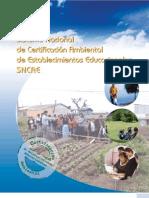 Sistema Nac Cert Ambiental, DOC CLAVE CONAMA, 2004