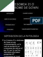 Trisomia 21 o Sindrome de Down