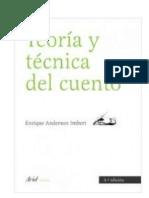 Anderson Imbert, E - Teoría y Técnica del Cuento