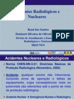 A-04 - Acidentes Radiologicos e Nucleares - 2009