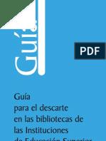 Guia de Descarte Bib. de Inst. Edu. Sup (IES)