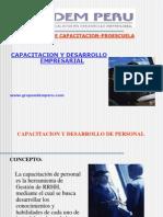 Capacitacion y Desarrollo de Personal i