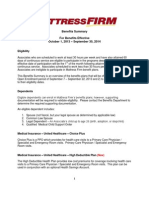 Benefits Summary 2013 - 2014 FINAL