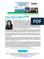 Caribbean & Latin American Conference on Talent Management 2013 BIO CICI HOLLOWAY