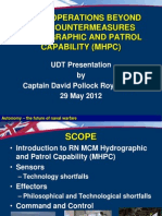 Naval Operations Beyond Mine Countermeasures Hydrographic and Patrol Capability (Mhpc)