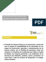 Seduvi Estudios de Impacto Urbano